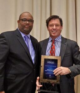 Robert Semrad and Pastor Cory Brooks